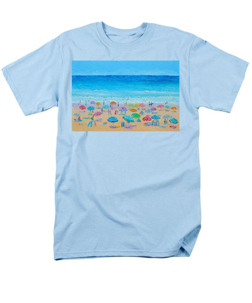 Life On The Beach Men's T-Shirt  (Regular Fit) by Jan Matson