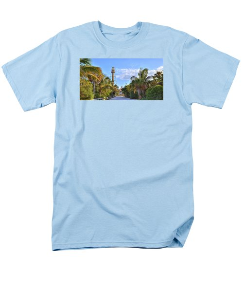 Light At The End Of The Road Men's T-Shirt  (Regular Fit) by Sean Allen