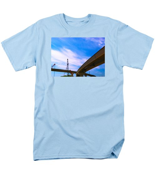 Men's T-Shirt  (Regular Fit) featuring the photograph Lineing The Sky by Jamie Lynn