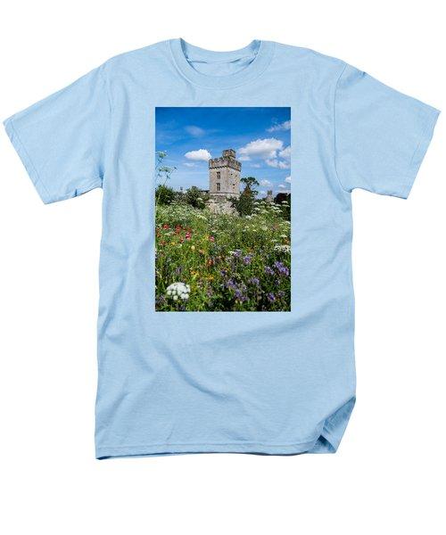Lismore Castle Gardens Men's T-Shirt  (Regular Fit) by Martina Fagan