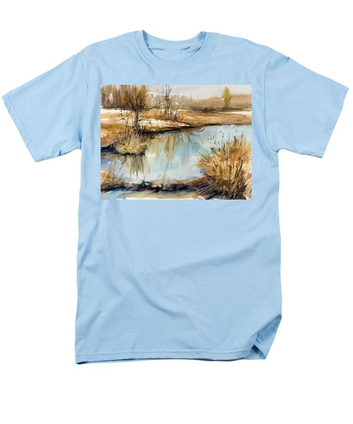 Little Dam Men's T-Shirt  (Regular Fit) by Judith Levins