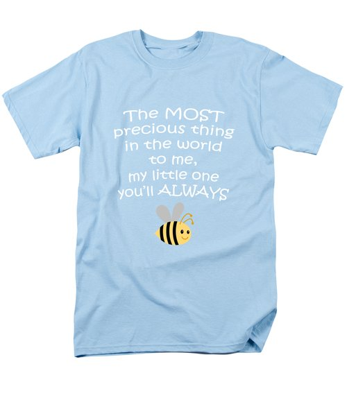Little One Blue Men's T-Shirt  (Regular Fit) by Inspired Arts