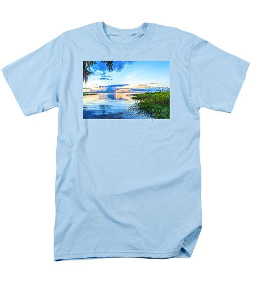 Men's T-Shirt  (Regular Fit) featuring the photograph Lochloosa Lake by Anthony Baatz