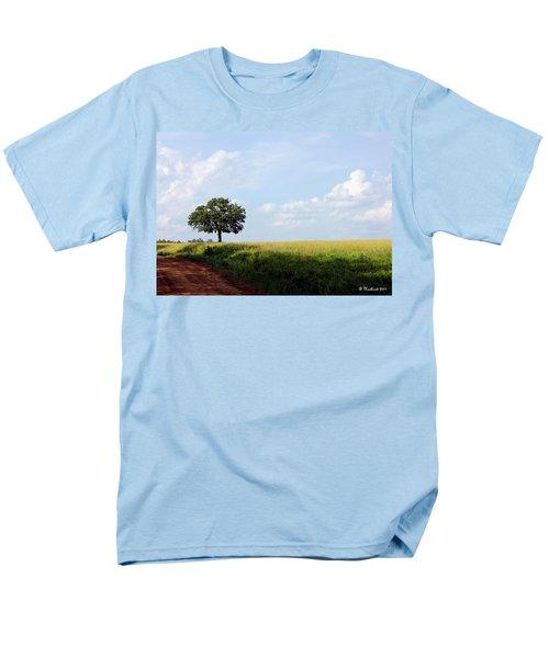 Lone Oak Men's T-Shirt  (Regular Fit) by Betty Northcutt