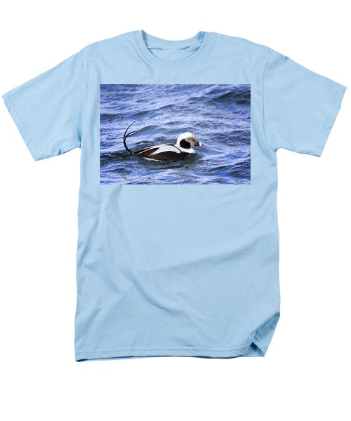 Long-tailed Duck 2 Men's T-Shirt  (Regular Fit) by Gary Hall