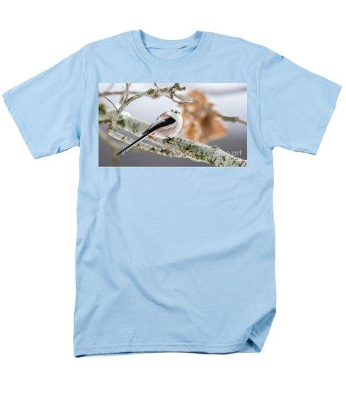 Long-tailed Tit Men's T-Shirt  (Regular Fit) by Torbjorn Swenelius