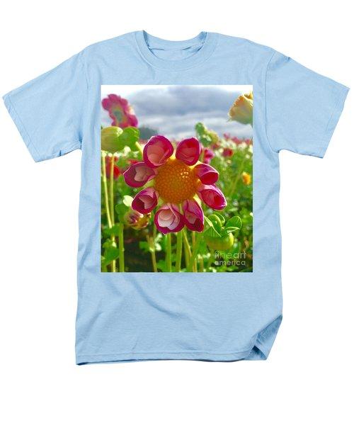 Look At Me Dahlia Men's T-Shirt  (Regular Fit) by Susan Garren