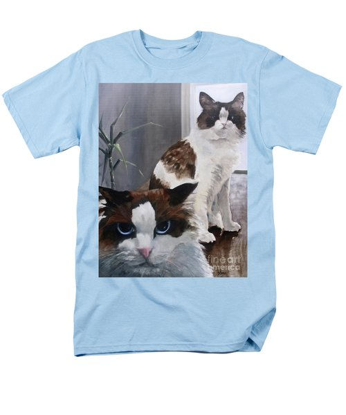 Men's T-Shirt  (Regular Fit) featuring the painting Look Who Is Grumpy Now by Diane Daigle