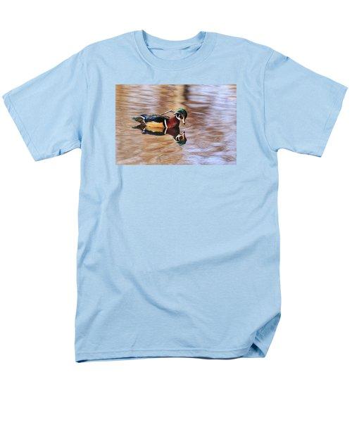 Looking At Me Men's T-Shirt  (Regular Fit) by Lynn Hopwood