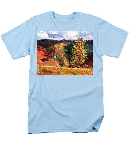 Loose Landscape Men's T-Shirt  (Regular Fit) by Janet Garcia
