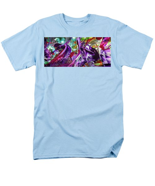 Lord Of The Rings Art - Colorful Modern Abstract Painting Men's T-Shirt  (Regular Fit) by Modern Art Prints
