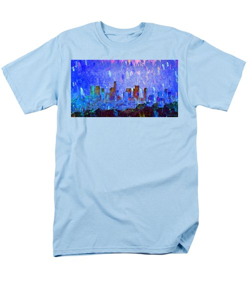 Los Angeles Skyline 2 - Pa Men's T-Shirt  (Regular Fit)