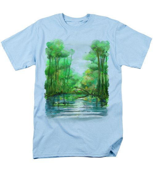 Lost In Colors  Men's T-Shirt  (Regular Fit) by Ivana Westin