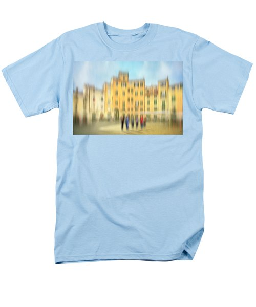 Lucca Ampitheatre Impression 2 Men's T-Shirt  (Regular Fit) by Marty Garland
