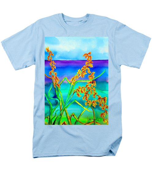 Men's T-Shirt  (Regular Fit) featuring the painting Luminous Oats by Lil Taylor