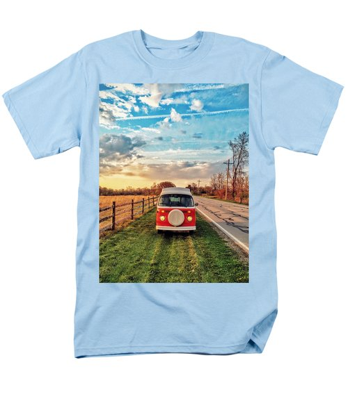 Magic Hour Magic Bus Men's T-Shirt  (Regular Fit) by Andrew Weills