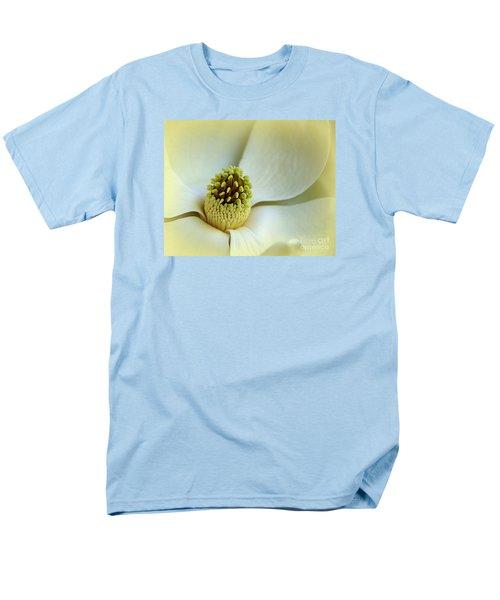 Men's T-Shirt  (Regular Fit) featuring the photograph Magnolia Heart II by Lisa L Silva