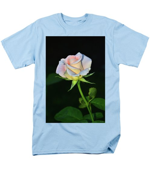 Men's T-Shirt  (Regular Fit) featuring the photograph Maid Of Honour Rose 001 by George Bostian