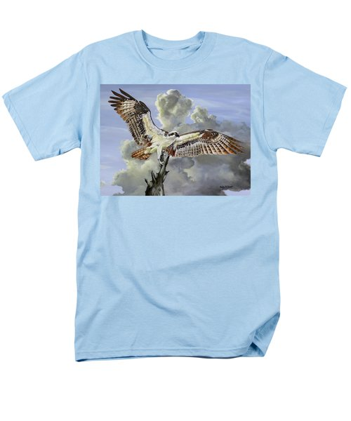 Majestic Sea Hawk Men's T-Shirt  (Regular Fit) by Phyllis Beiser