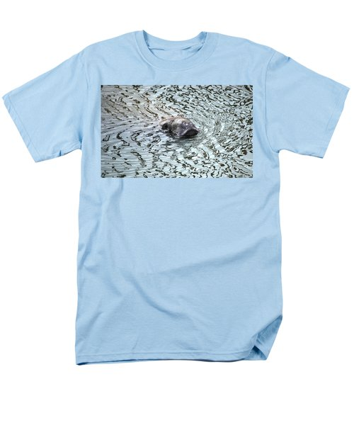 Manatee 2 Men's T-Shirt  (Regular Fit) by Angela Murray
