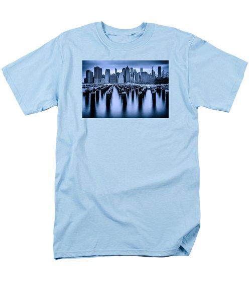 Men's T-Shirt  (Regular Fit) featuring the photograph Manhattan Blues by Chris Lord