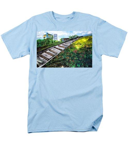 Memories Of Commonwealth Men's T-Shirt  (Regular Fit) by Belinda Low