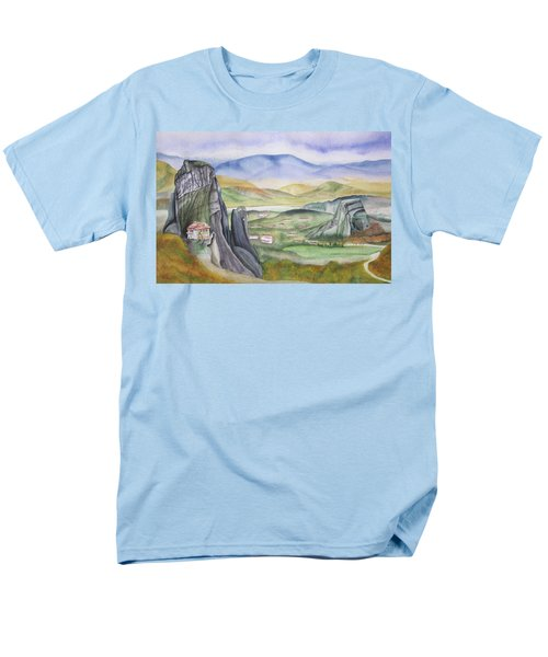 Meteora Men's T-Shirt  (Regular Fit) by Teresa Beyer