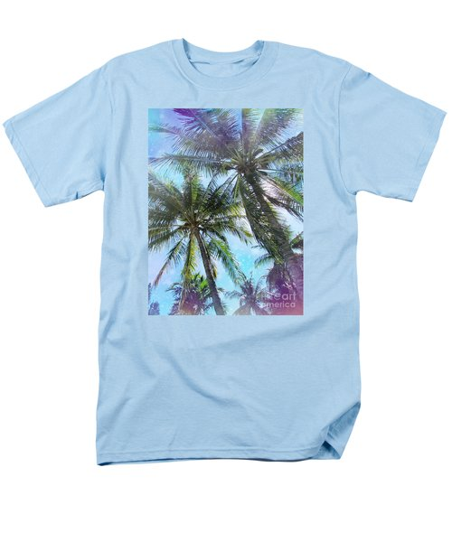 Miami Palm Trees Men's T-Shirt  (Regular Fit) by France Laliberte