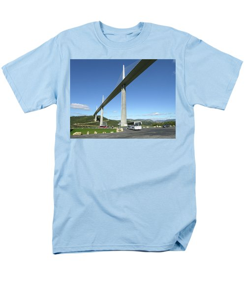 Millau Viaduct Men's T-Shirt  (Regular Fit) by Jim Mathis