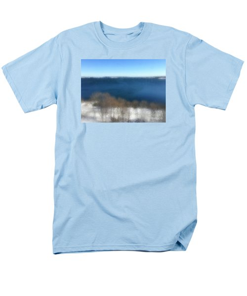 Minimalist Soft Focus Seascape Men's T-Shirt  (Regular Fit) by Patricia E Sundik
