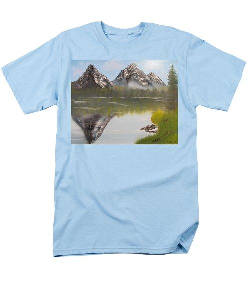 Mirror Mountain Men's T-Shirt  (Regular Fit) by Thomas Janos