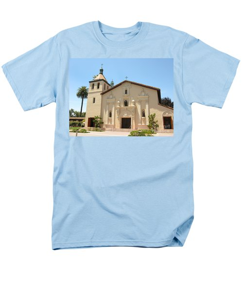 Mission Santa Clara Men's T-Shirt  (Regular Fit) by Mini Arora