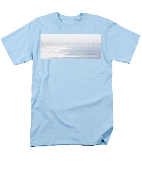 Misty Beach Morning  Men's T-Shirt  (Regular Fit) by Nicholas Burningham