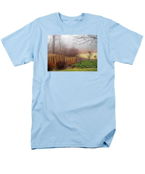 Men's T-Shirt  (Regular Fit) featuring the photograph Misty Morn by Betsy Zimmerli
