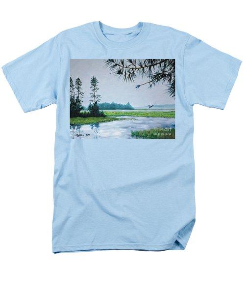 Misty Morning Men's T-Shirt  (Regular Fit) by Stanton Allaben