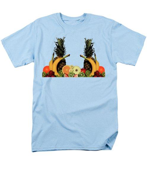 Mixed Fruits Men's T-Shirt  (Regular Fit)