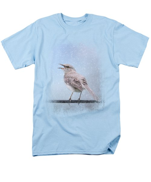 Mockingbird In The Snow Men's T-Shirt  (Regular Fit) by Jai Johnson