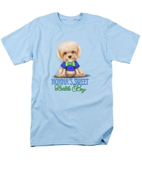 Mommas Sweet Little Boy Men's T-Shirt  (Regular Fit) by Catia Cho