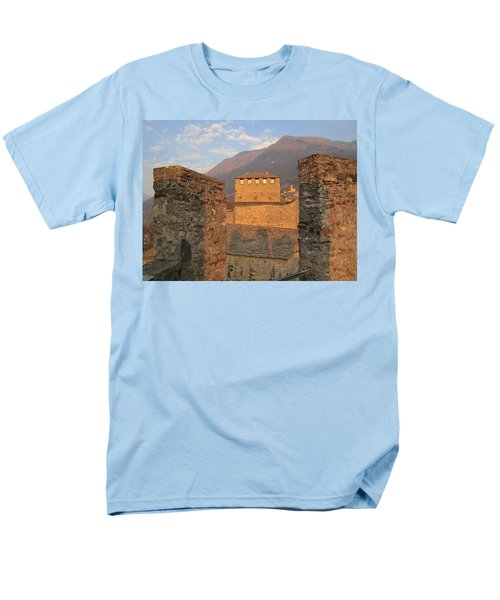 Montebello - Bellinzona, Switzerland Men's T-Shirt  (Regular Fit)