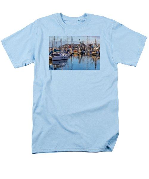 Monterey Marina Afternoon Men's T-Shirt  (Regular Fit) by Derek Dean