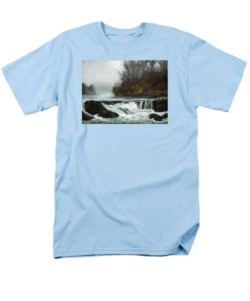 Moonlit Serenity Men's T-Shirt  (Regular Fit) by Marna Edwards Flavell