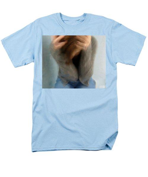 Morning Anxiety Men's T-Shirt  (Regular Fit) by Gun Legler