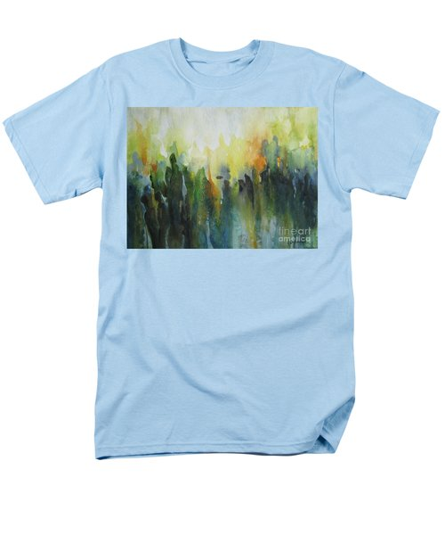 Men's T-Shirt  (Regular Fit) featuring the painting Morning Light by Elena Oleniuc