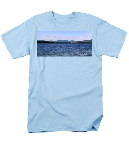 Mount Washington Men's T-Shirt  (Regular Fit) by Mim White