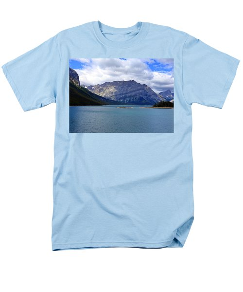 Upper Kananaskis Lake Men's T-Shirt  (Regular Fit) by Heather Vopni