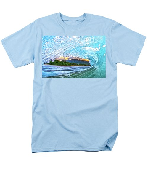 Mountains To The Sea Men's T-Shirt  (Regular Fit) by James Roemmling