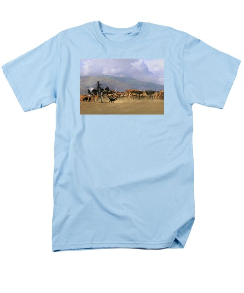 Move Em Out Men's T-Shirt  (Regular Fit) by Ed Hall