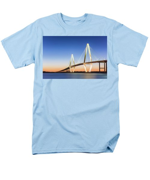 Moving Yet Still Men's T-Shirt  (Regular Fit) by Jon Glaser