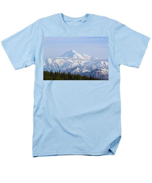 Denali Cloud Line Men's T-Shirt  (Regular Fit) by Allan Levin