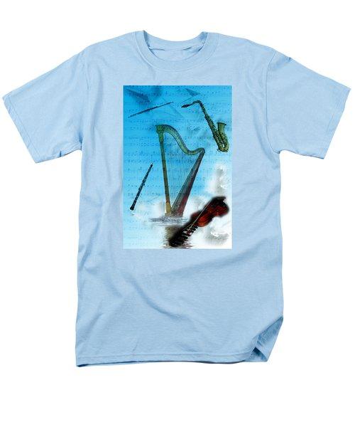 Musical Instruments Men's T-Shirt  (Regular Fit) by Angel Jesus De la Fuente